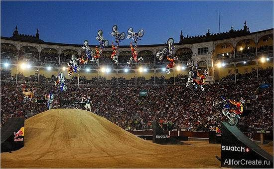 Red Bull X-fighters Madrid 2008
